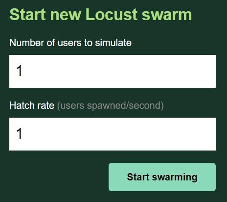 負荷テストツールLocust(イナゴ 175)のインストールと実行