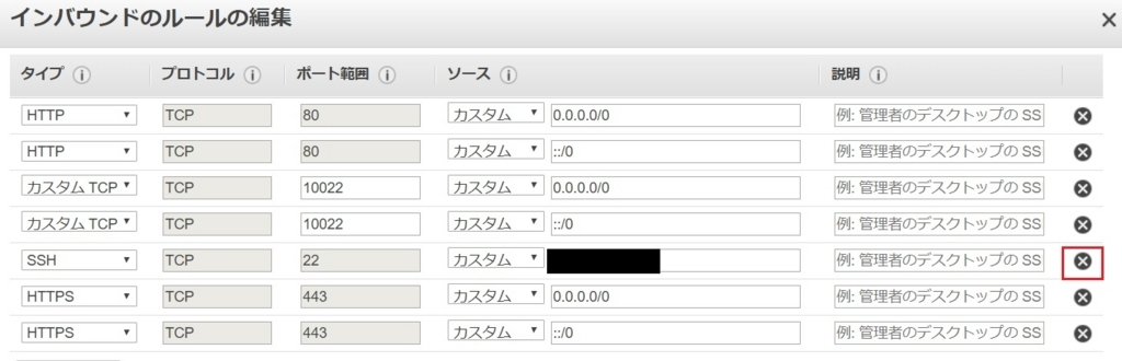AmazonLinuxでsshの待ち受けポートを22番から別の番号に変更する