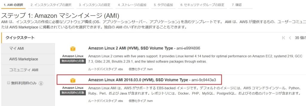 AWSでWebサーバ用途にEC2(AmazonLinux)の環境を構築する