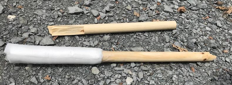スイカ割りに適した棒の大きさ(長さ、太さ)と代用品