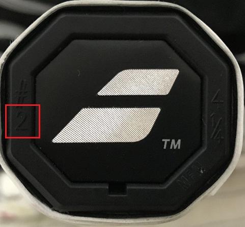 テニスラケットのグリップサイズを調べる方法